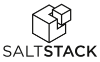 SaltStack logo - black on white